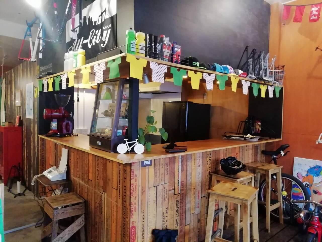 ツールデコレーション‗シコーバイシクルサービスカフェ